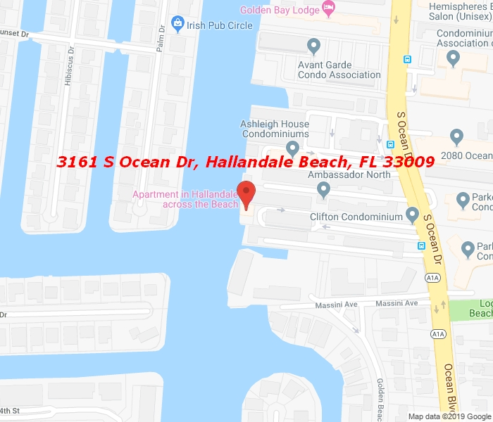 3161 Ocean Dr #1107, Hallandale Beach, Florida, 33009